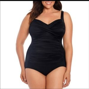 Women's Trim Shaper Swim Wear Plus